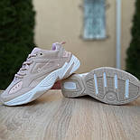 Женские кроссовки Nike M2K Tekno пудровые 36-40р.. Живое фото. Реплика, фото 6