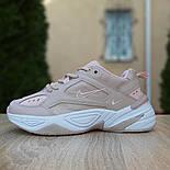 Женские кроссовки Nike M2K Tekno пудровые 36-40р.. Живое фото. Реплика, фото 9