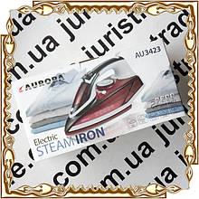 Утюг 2600 Вт. керамика/пар/самоочистка/антикапля Aurora 3423