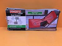 """Тримач подвійний магнітний для зварювальних робіт 205x86x40mm """"Powerfix"""" 4749."""