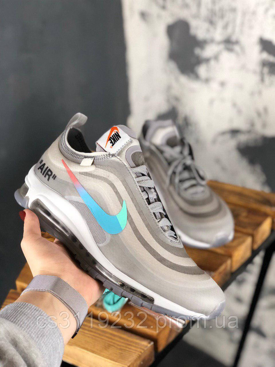 Мужские кроссовки Nike Off-White x Nike Air Max 97 Menta