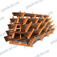 Складской стеллаж под металлопрокат CRMA, консольный стеллаж для металлопроката