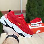 Женские кроссовки Nike M2K Tekno красные 36-40р.. Живое фото. Реплика, фото 2