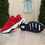 Женские кроссовки Nike M2K Tekno красные 36-40р.. Живое фото. Реплика, фото 3