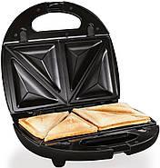 Бутербродница, вафельница, гриль 3в1 SilverCrest SSMW 750 B2, фото 4