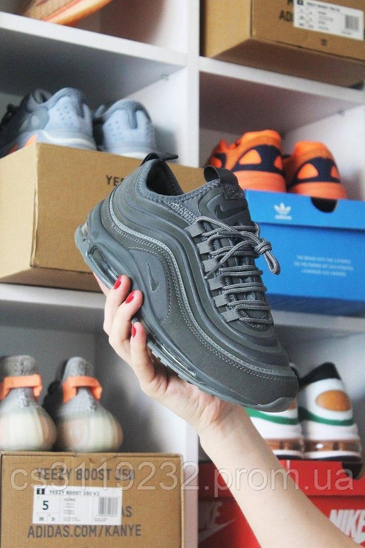 Мужские кроссовки Nike Air Max 97 Gray (серые)