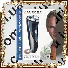 Электробритва аккумуляторная 3 лезвия, триммер Aurora № 3546