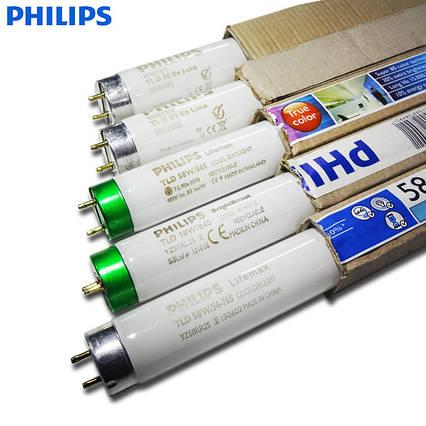Лампа люминесцентная Т8 18 Ватт 600 мм PHILIPS
