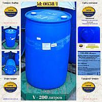 0658/1: Бочка (200 л. б/у пластикова ✦ Водно-спирто-гліцериновий екстракт