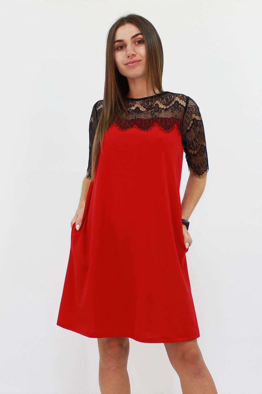 S, M, L | Коктейльне жіноче плаття Arizona, червоний