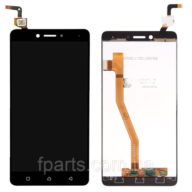 Дисплей для Lenovo K6 Note (K53a48) с тачскрином, Black