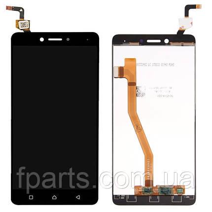 Дисплей Lenovo K6 Note (K53a48) з тачскріном, Black, фото 2