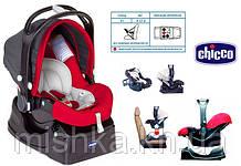 Автокрісло Chicco Auto-Fix з базою червоне 0-1 3кг