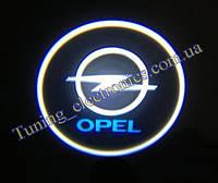 OPEL /Опель  Врезные проекторы логотипа автомобиля в двери