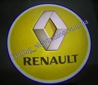 RENAULT/ Рено Врезные проекторы логотипа автомобиля в двери