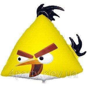 Шар фольга Angry Birds Желтая птица (фигура) 1207-3035