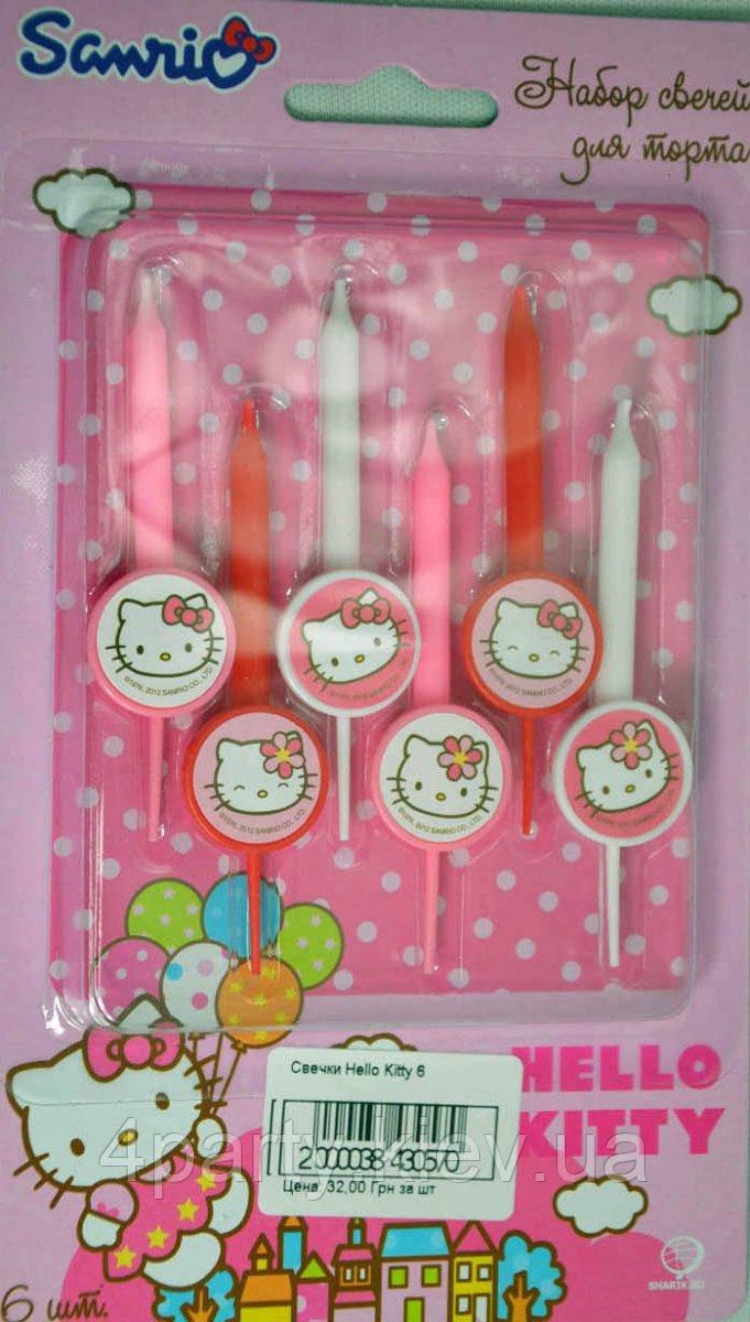 Свічки Hello Kitty 1502-1051