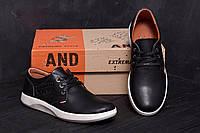 Мужские кожаные туфли Levis (реплика)