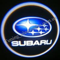 SUBARU/ Субари Врезные проекторы логотипа автомобиля в двери