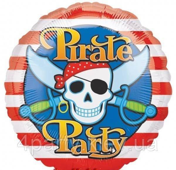 Шар фольгированный Pirate Party 1202-0528