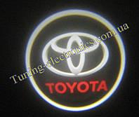 TOYOTA/ Тоета Врезные проекторы логотипа автомобиля в двери