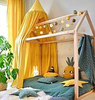 Игровой  деревянный домик, манеж, кровать для детей