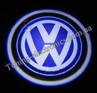 VW/ Фольцваген Врезные проекторы логотипа автомобиля в двери