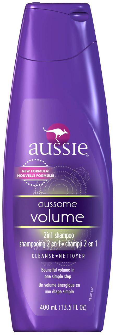 Шампунь для волос Aussie Aussome Volume 2 in 1 Shampoo