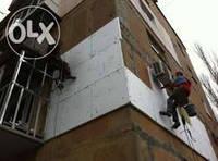 Фасадные работы, утепление фасадов. Утепление наружных стен