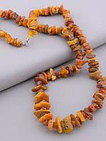 Бусы  Янтарь 68 см., фото 1