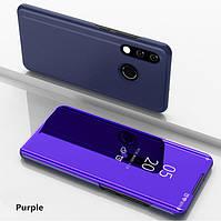 Чехол Книжка для Huawei Honor Note 10 с зеркальной поверхностью (Разные цвета)