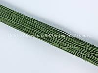 Стебельки для цветов — Зелёные (№28) - Ø0,35 мм - L25 см - 200 шт.