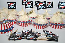 Корзинка для кекса Пираты 48 1502-3066