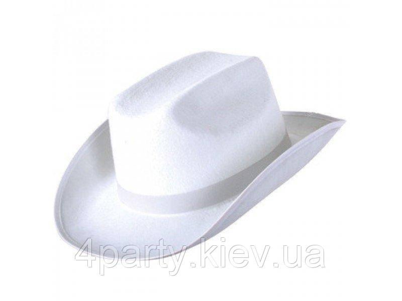 Шляпа Ковбойка (белая) 170216-358