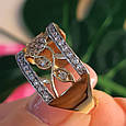 Женское кольцо из лимонного золота - Женское кольцо желтое золото, фото 6