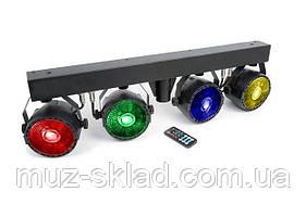 Комплект заливочного света New Light PL-31K LED 4*30W COB Party Bar