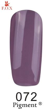 Гель-лак F.O.X Pigment 072, 6мл