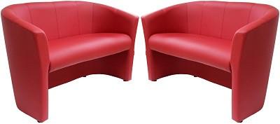 Диван двухместный Бум красный - картинка