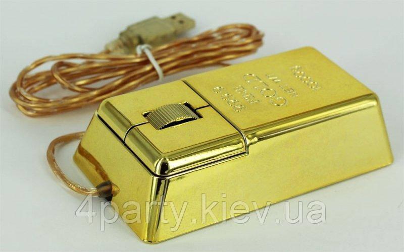 """Компьютерная мышь """"Слиток золота"""" 110316-396"""
