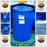 0479/1: Бочка (200 л. б/у пластикова ✦ Олеїнова кислота