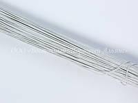 Стебельки для цветов — Белые - (№28) - Ø0,35 мм - L25 см - 200 шт.