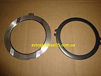 Кольца упорные коленвала Газ 53 (кольца осевого смещения ) комплект 2 штуки, производитель Россия