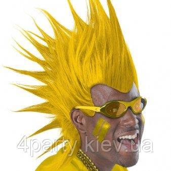 Парик Ирокез люкс (желтый) 1501-3275