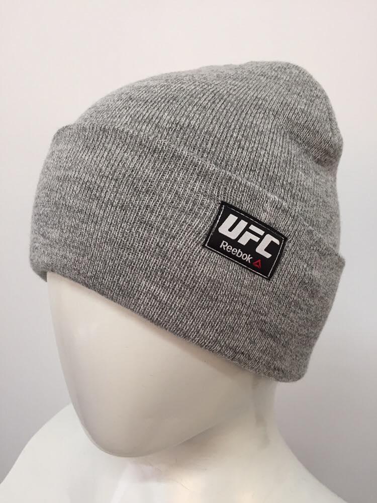 "Шапка ""Домик UFC"" серый"