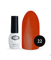 Однофазный гель-лак KOTO №022 (насыщенный оранжевый, эмаль) 5 мл