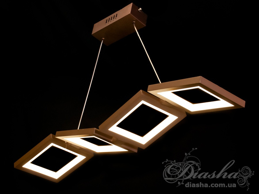 Современная светодиодная люстра, 52W&5309BK