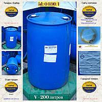 0480/1: Бочка (200 л.) б/у пластиковая ✦ Жирные кислоты таллового масла