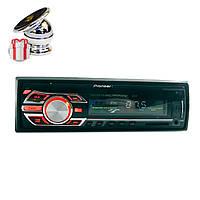 Pioneer 6317 Usb+RGB (доступная автомагнитола с подсветкой) +ПОДАРОК
