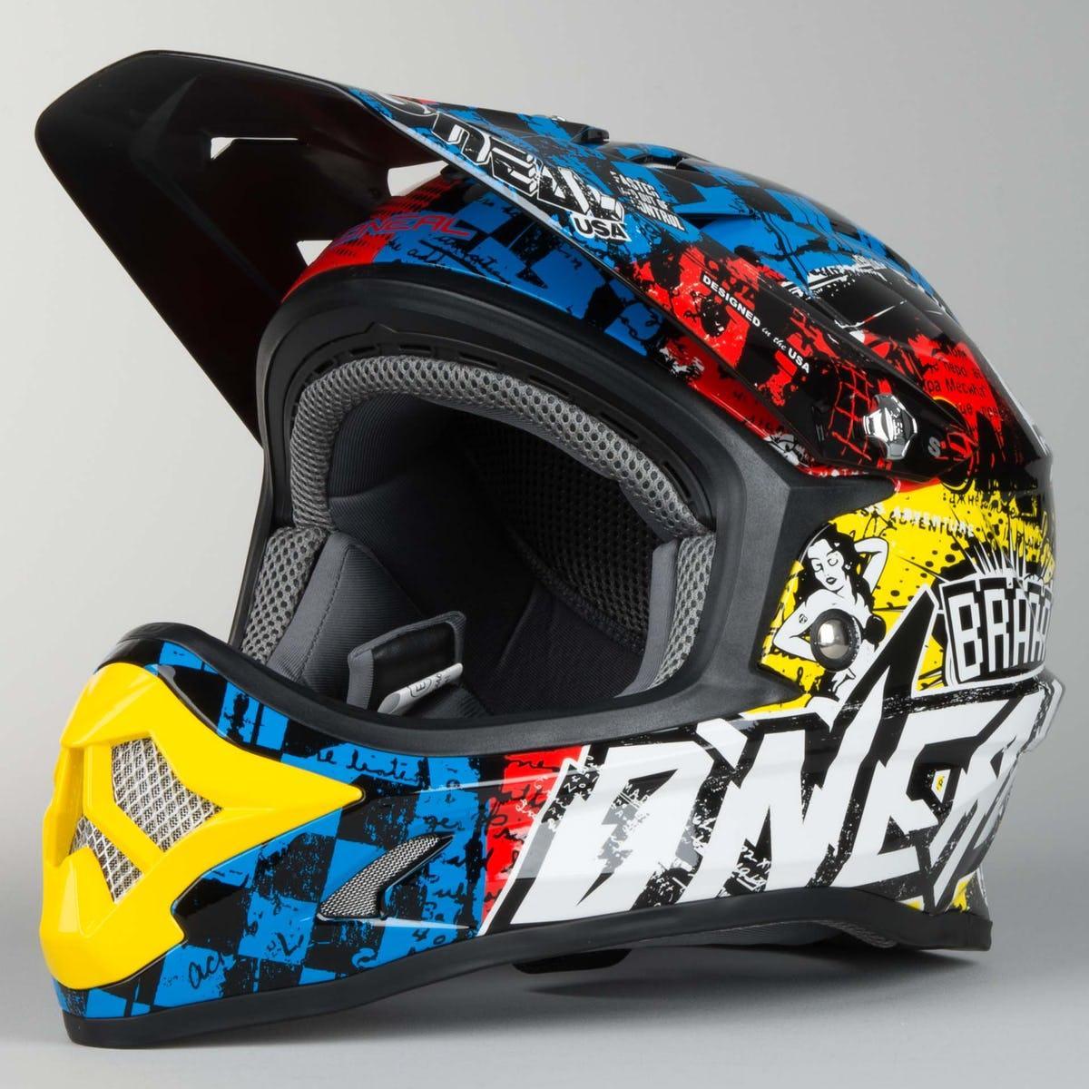 Шлем Oneal (O'NEAL 3Series )  Wild Youth Motocross Helmet Multi