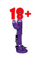 Вибратор с клиторальным стимулятором TOYFA A-Toys High-Tech fantasy, фото 1